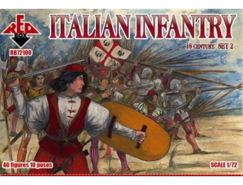 Red Box Italian infantry,16th century, set 2 1:72 (72100)