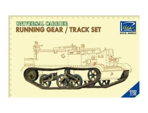 Riich Running gear   Tracks set for Universal Carrier 1:35 (RE30015)