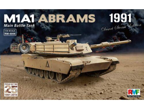 Rye Field Model M1A1 Abrams Gulf War 1991 1:35 (5006)