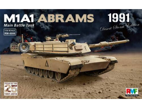 Rye Field Model M1A1 Abrams Gulf War 1991 1:35 (5006)