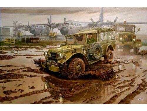 Roden M42 US 3/4 ton 4x4 Command truck 1:35 (809)