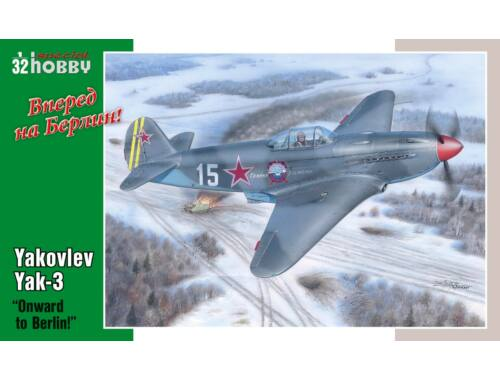 "Special Hobby Yakovlev Yak-3 ""Onward to Berlin"" 1:32 (32011)"