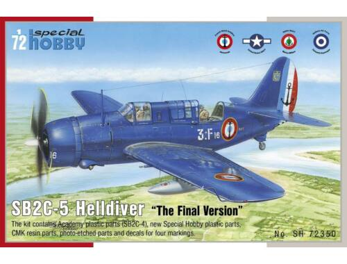 Special Hobby SB2C-5 Helldiver The Final Version 1:72 (72350)