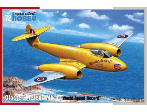 Special Hobby Gloster Meteor Mk.4 World Speed Record 1:72 (72361)