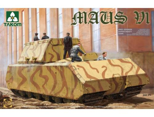 Takom German Super Heavy Tank Maus V1 1:35 (2049)