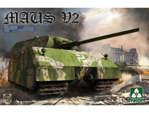 Takom German Super Heavy Tank Maus V2 1:35 (2050)