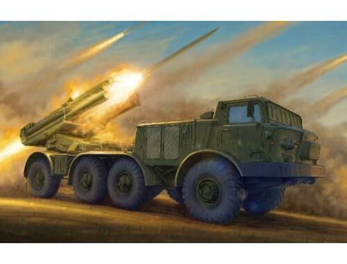 Trumpeter 9P140 TEL of 9K57 Uragan Multipl. Rocket System 1:35 (01026)