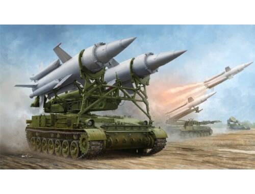 """Trumpeter Soviet 2K11A TEL w/9M8M """"Krug-a"""" (SA-4 Ganef) 1:35 (9523)"""