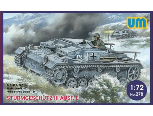 Unimodel Sturmgeschutz III Ausf.E 1:72 (278)