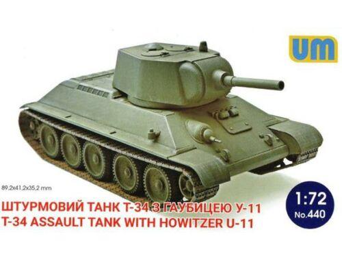 Unimodel T-34-3 Tank 1:72 (444)