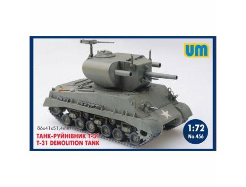 Unimodel T-31 demolition Tank 1:72 (456)