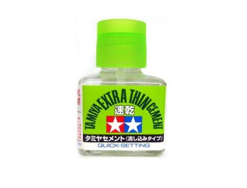 Tamiya Extra Thin Cement - Quick setting 40ml (87182)