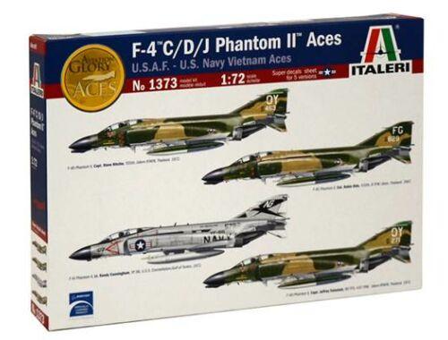 Italeri F-4 C/D/J Phantom II Aces 1:72 (1373)