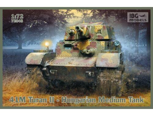 IBG 41M Turan II - Hungarian Medium Tank 1:72 (72048)