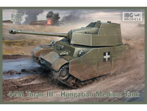 IBG 43M Turan III - Hungarian Tank with Skirts 1:72 (72049)