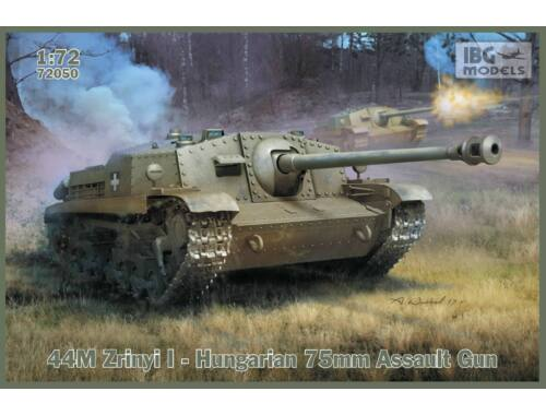 IBG 44M Zrinyi I - Hungarian 75mm Assault Gun 1:72 (72050)
