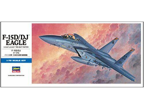 Hasegawa F-15D/DJ Eagle USAF 1:72 (D5)
