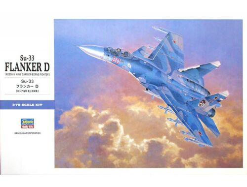 Hasegawa Su-33 Flanker D Russian Navy 1:72 (E35)