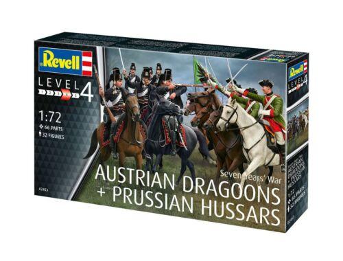 Revell Osztrák dragonyosok és porosz huszárok a 100 éves háborúban 1:72 (2453)