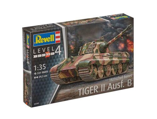 Revell Tiger II Ausf. B (Henschel Turret) 1:35 (3249)