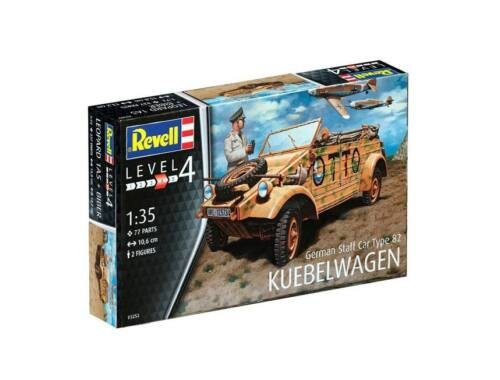 Revell German Staff Car Type 82 Kübelwagen 1:35 (3253)