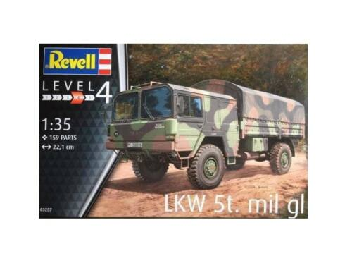 Revell LKW 5t.mil gl (4x4 Truck) 1:35 (3257)