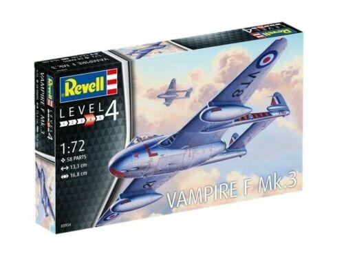 Revell Vampire F Mk.3 1:72 (3934)