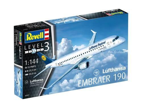 Revell Embraer 190 Lufthansa 1:144 (3937)