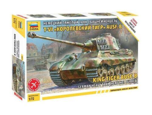 King Tiger Henschel Turret 1:72 (5023)