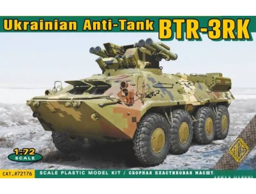 ACE BTR-3RK Ukrainian anti-tank vehicle 1:72 (72176)