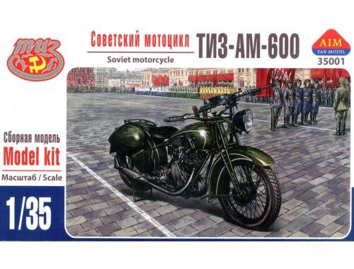 AIM TIZ-AM-600 Soviet motorcycle 1:35 (35001)