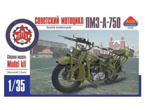 AIM PMZ-A-750 Soviet motorcycle 1:35 (35005)