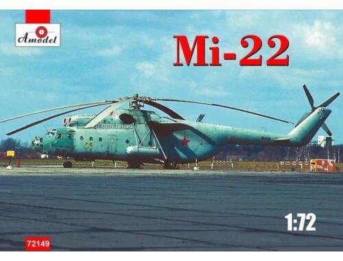 Amodel Mi-22 Soviet Helicopter 1:72 (72149)