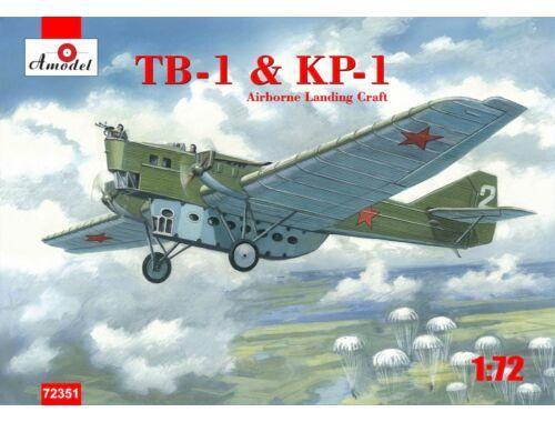 Amodel TB-1   KP-1 Airborne landing craft 1:72 (72351)