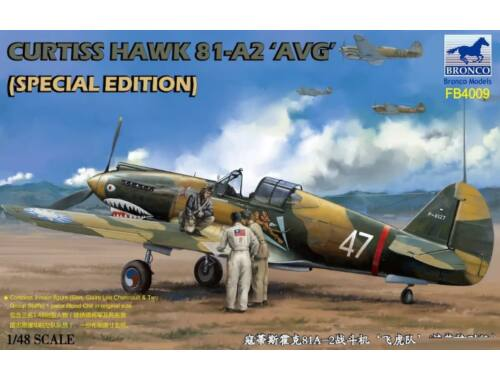 Bronco Curtiss Hawk 81-A2'AVG'(Special Edition 1:48 (FB4009)