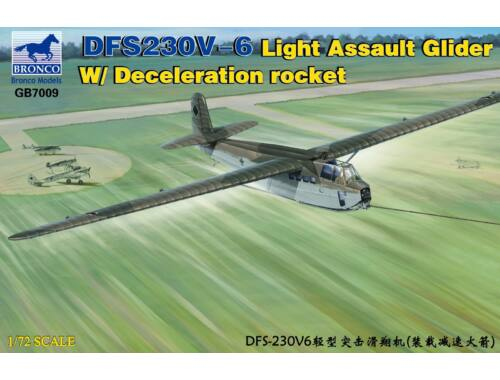 Bronco DFS230V-6 Light Assault Glider W/Decele- -ration rocket1:72 (GB7009)
