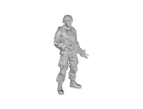 CMK 1/35 Commanding Officer (standing), US Army Infantry Squad 2nd Division for M1126 Stryker (part