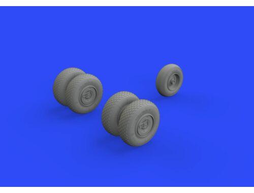 Eduard He 219 wheels for TAMIYA 1:48 (648328)