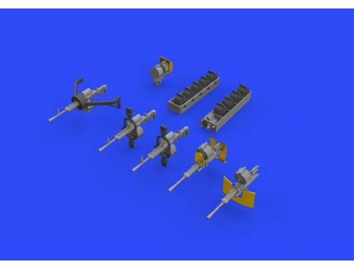 Eduard H8K2 Emily guns for HASEGAWA 1:72 (672157)