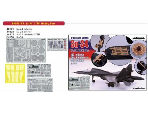 Eduard Su-34 for HOBBY BOSS 1:48 (BIG49175)