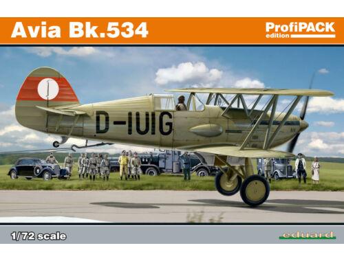 Eduard Avia Bk.534 ProfiPACK 1:72 (70105)