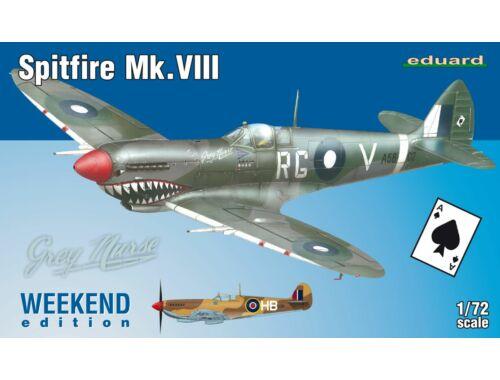 Eduard Spitfire Mk.VIII WEEKEND edition 1:72 (7442)