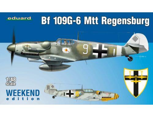 Eduard Bf 109G-6 MTT Regensburg WEEKEND edition 1:48 (84143)