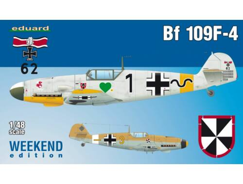 Eduard Bf 109F-4 WEEKEND edition 1:48 (84146)