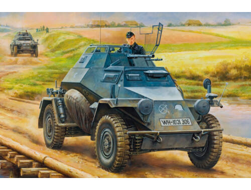 Hobby Boss German Leichter Panzerspahwagen(2cm)Mid Version 1:35 (80149)