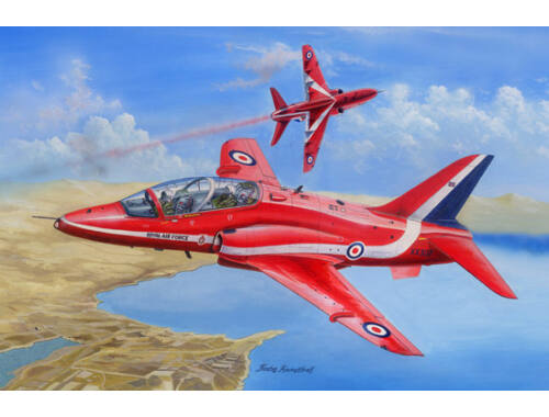 Hobby Boss RAF Red Arrows Hawk T MK.1/1A 1:48 (81738)