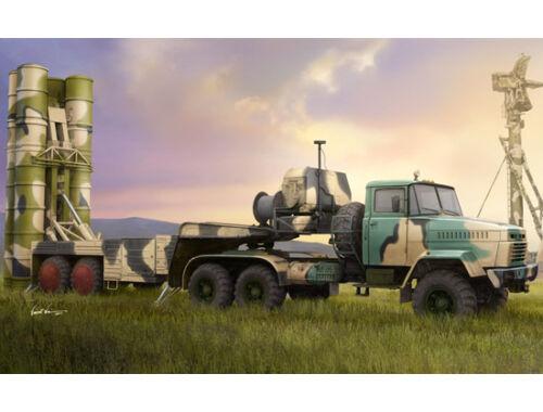 Hobby Boss Russian KrAZ-260B Tractor w. 5P85TE TEL S-300PMU 1:35 (85511)