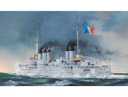 Hobby Boss French Navy Pre-Dreadnought Battleship Condorcet 1:350 (86505)