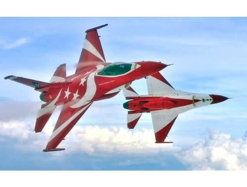 Kinetic F-16C RSAF Black Knight 1:48 (48068)
