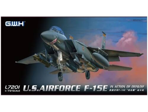 Lion Roar USAF F-15E In action of OEF   OIF 1:72 (L7201)